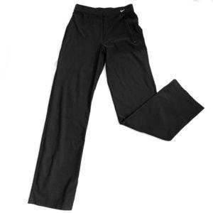 NIKE Dri-Fit Black Track Pants Size Medium